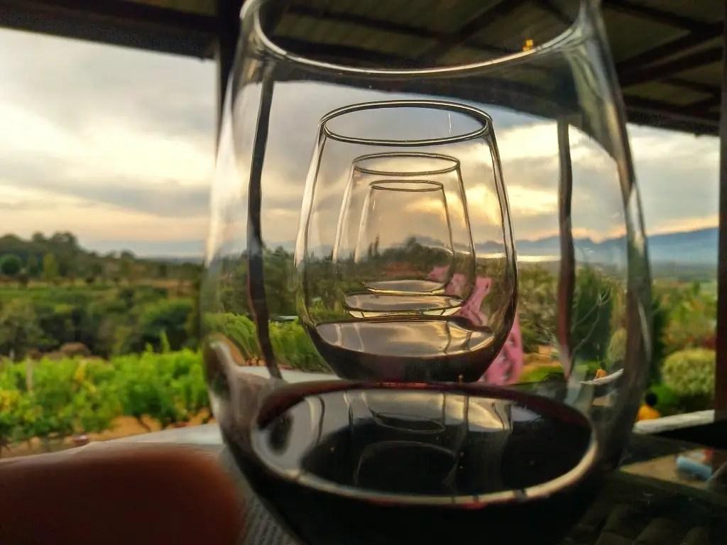 Wine Tasting Red Mountain Winery Inle Lake