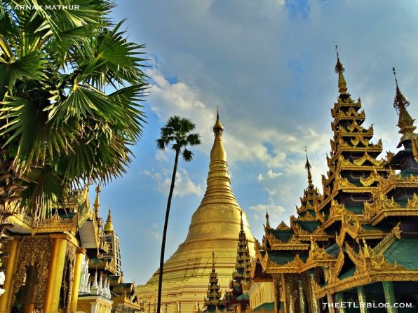 The icon of Yangon