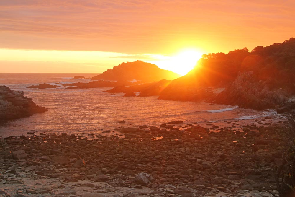 Sunset time - South Africa Travel Guide | theETLRblog