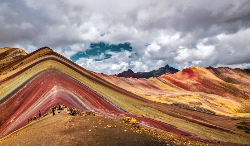 Peru Travel Attractions - Rainbow Mountain in Peru