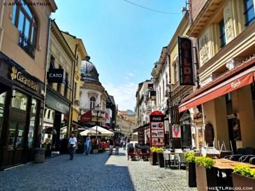Lipscani Old Town Bucharest