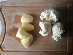 κουνουπίδι, πατάτες