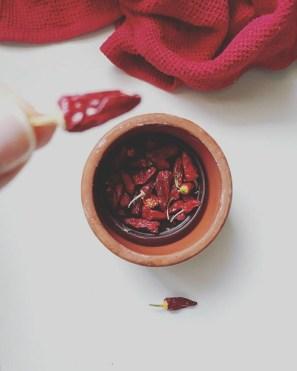 τσίλι, πιπεριές