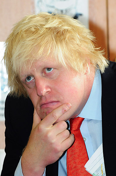 Boris Johnson Is A Made Up Character That Got Out Of Hand
