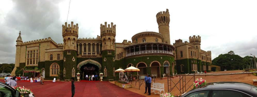 I went to check out Bangalore Palace on my free day.