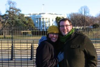 Obligatory White House picture!