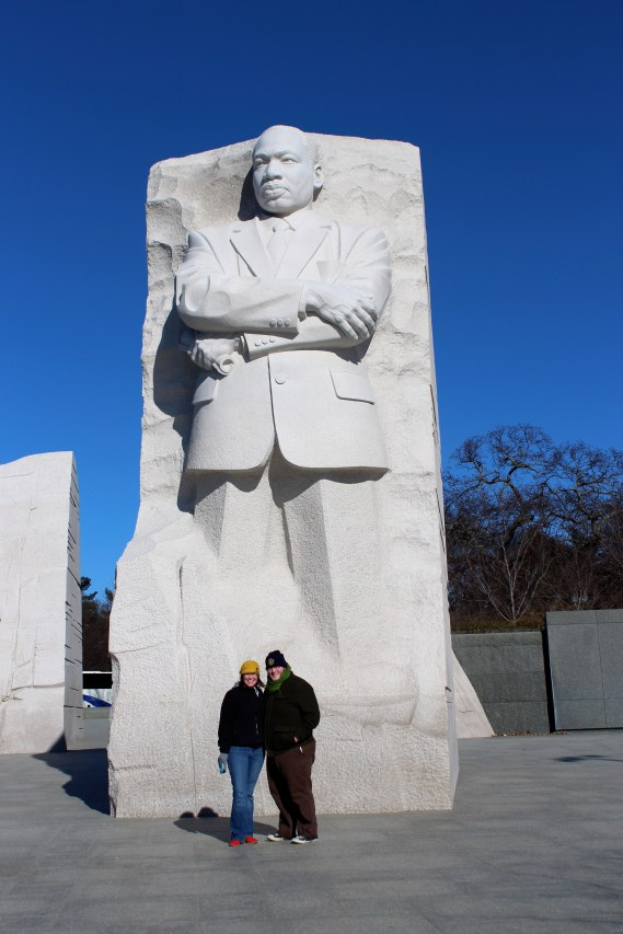Here we are with Dr. King!