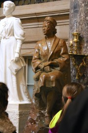 Rosa Parks got the best seat in the house (of Representatives) :-)