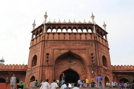 A beautiful mosque called Jama Masjid
