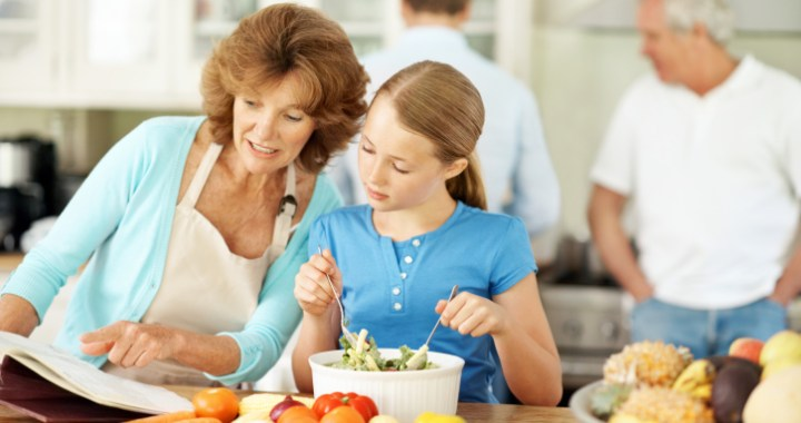 Promising to have more family meals is a unique Mother's Day gift that benefits the entire family
