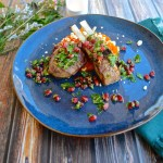 Lamb Chops with Pomegranate Gremolata | www.theeverykitchen.com
