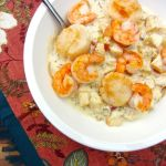 Seared Shrimp & Scallops in Apple Cider Cream Sauce
