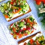 Cool Summer Veggie Pizza
