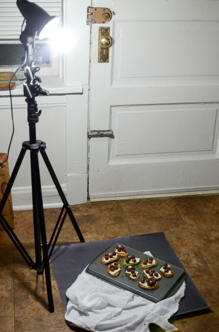 winter lighting setup | www.theeverykitchen.com