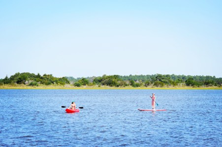 water sports on the intercoastal waterway