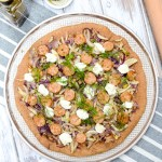 Roasted Fennel, Italian Sausage, and Ricotta Pizza