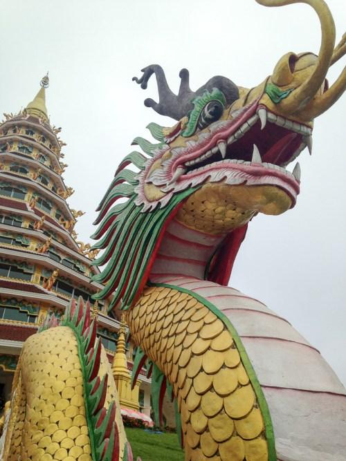 Wat Huay Plakang Temple, Chiang Rai, Thailand | www.theeverykitchen.com