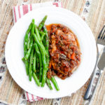Braised Tuscan Pork Chops with Pan-Fried Green Beans   www.theeverykitchen.com
