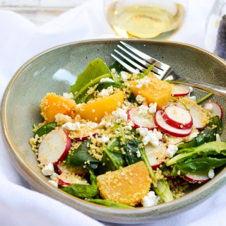 Golden Beet Couscous Salad