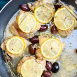 One-Skillet Mediterranean Lemon Chicken