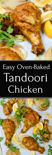 Easy Oven Tandoori Chicken + Life Things