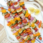 Lemon Herb Chicken Skewers + Life Things