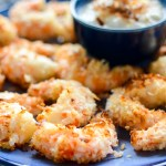 Air Fryer Coconut Shrimp with Piña Colada Dip