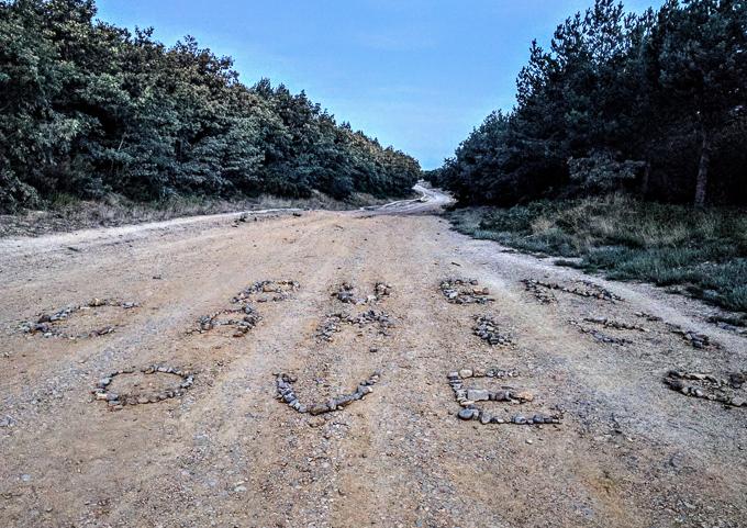 Buen Camino waymarker, Camino de Santiago | theeverykitchen.com