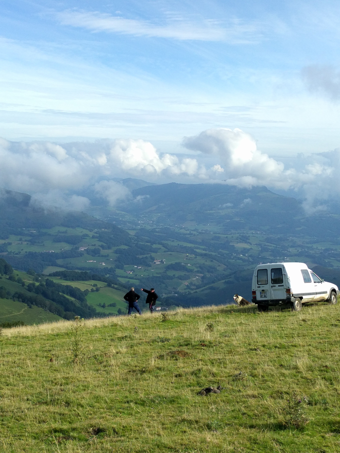The Pyrenees Mountains, France, Camino de Santiago | theeverykitchen.com