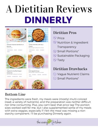 A Dietitian Reviews Dinnerly | theeverykitchen.com