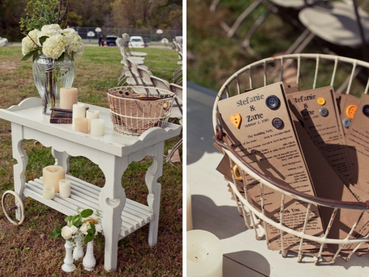 Yellow Amp Gray Outdoor DIY Wedding Part 1 Every Last Detail