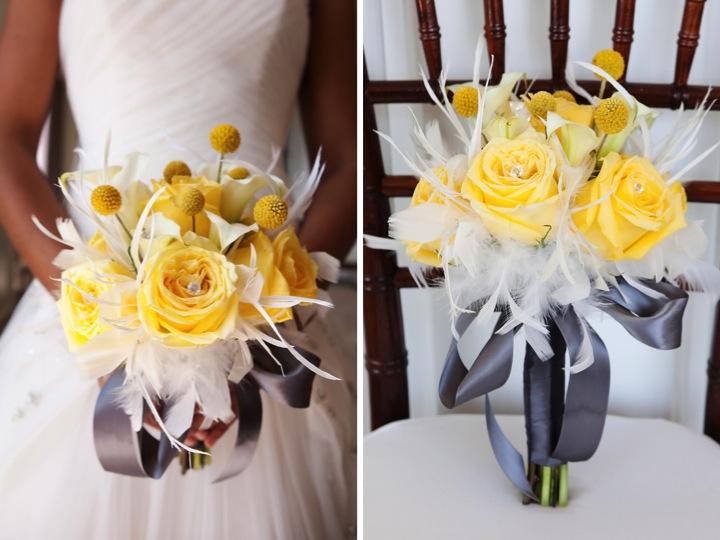 Modern Yellow & Slate Wedding Inspiration