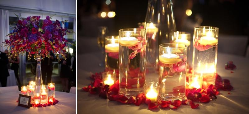 Elegant Purple Amp Red New Orleans Wedding Every Last Detail