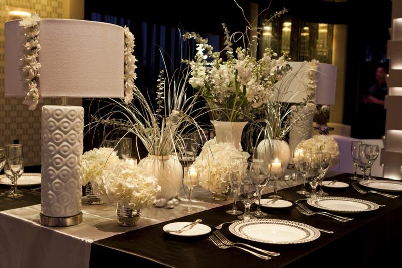 Modern Chic Black Amp White Wedding Inspiration Every Last