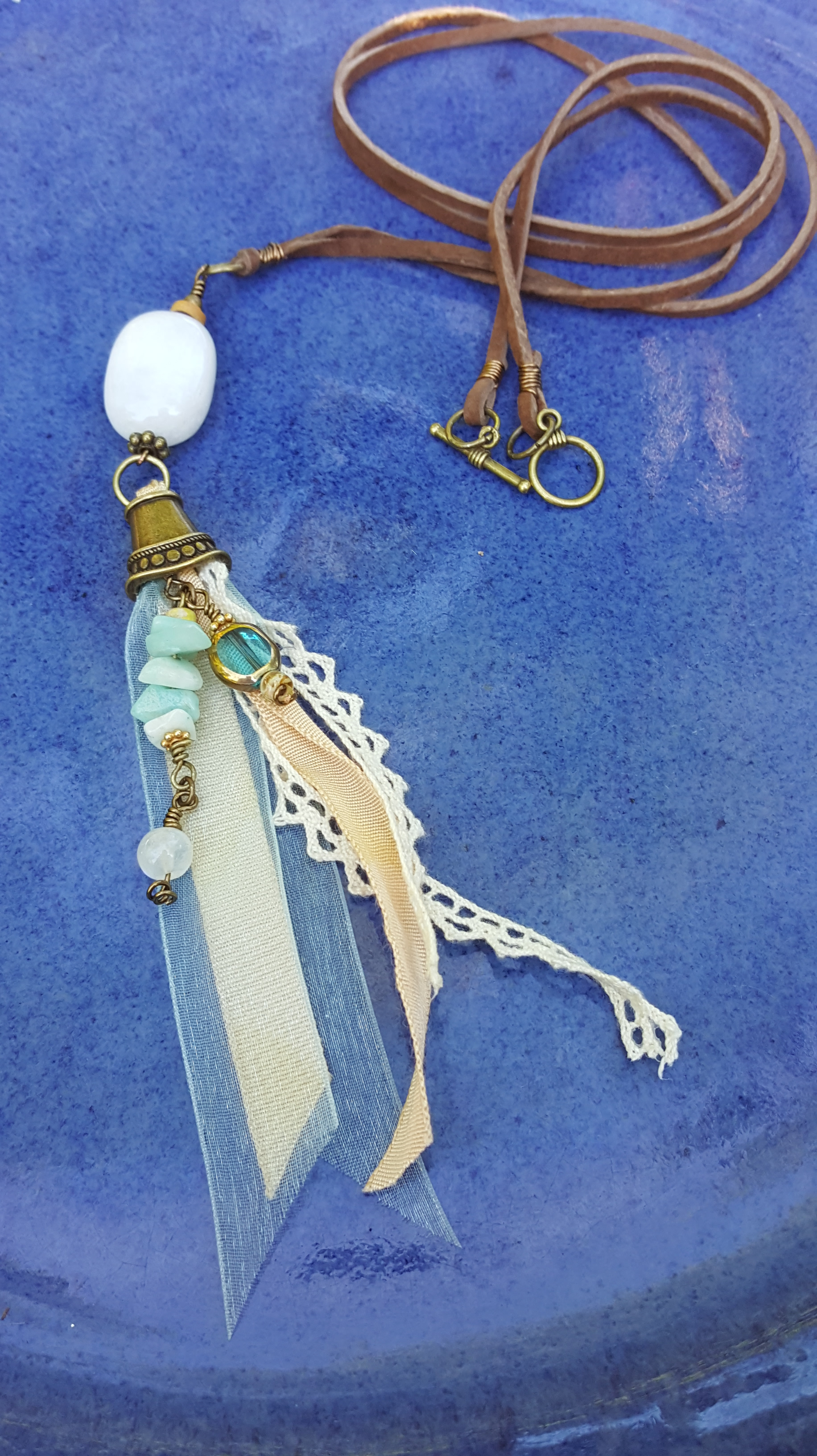 Water Pixie Pendant - necklaces