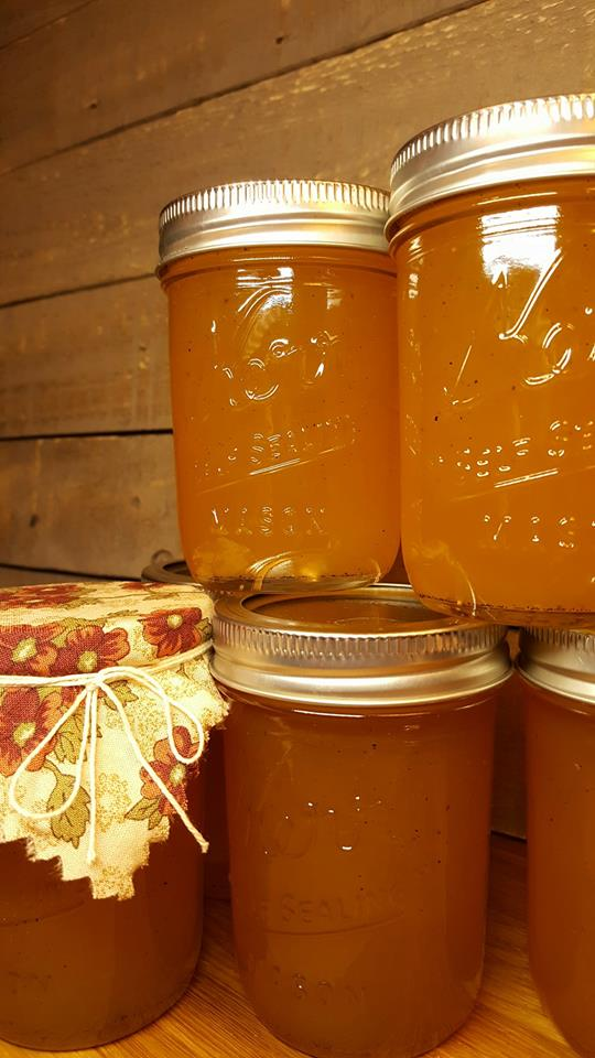 Winter Solstice – and Sunny Orange Jelly
