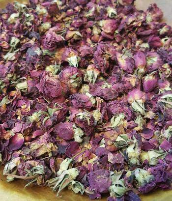 Wildheart Rose Tea blend - rose petals/buds