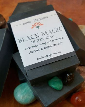 Black Magic Detox Charcoal Soap