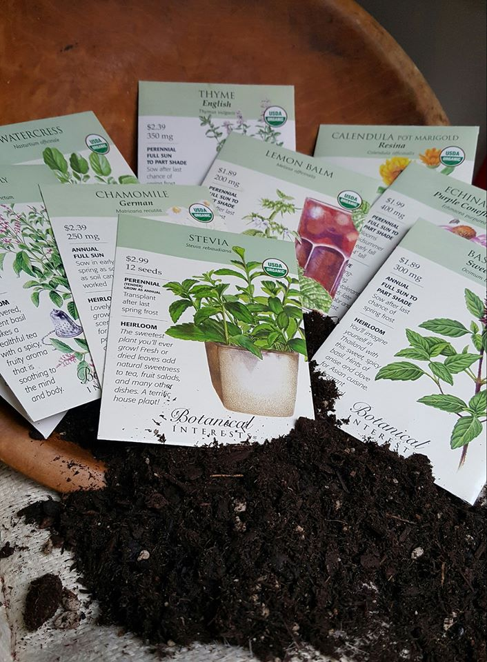 Herb Seed Giveaway has ended – don't miss the next one