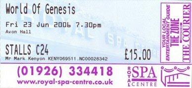 Ticket (Copyright Evil Jam)