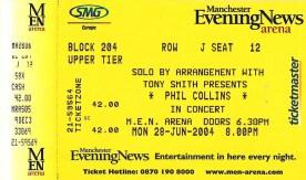 MEN Manchester 28th June 2004