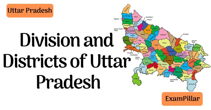 Division and Districts of Uttar Pradesh