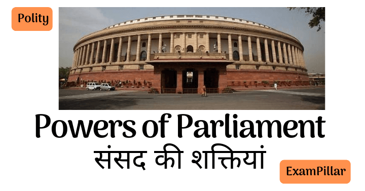 Powers of Parliament