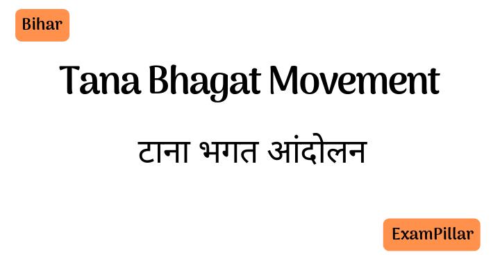 Tana Bhagat Movement