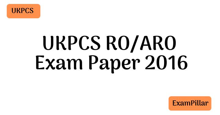 UKPCS RO/ARO