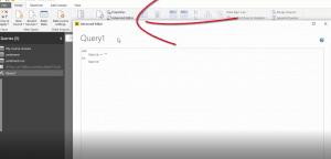 query editor in Power BI