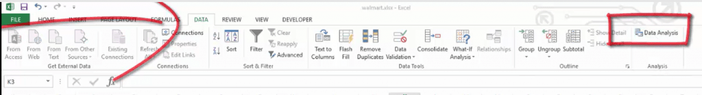 data analysis toolpac in excel