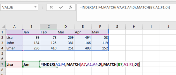 XMACTH in excel