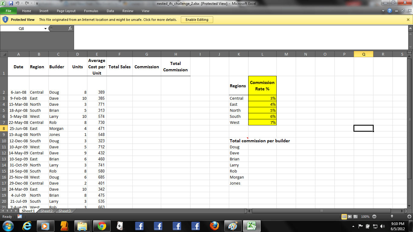 Cycle 28 If And Vlookup Practices