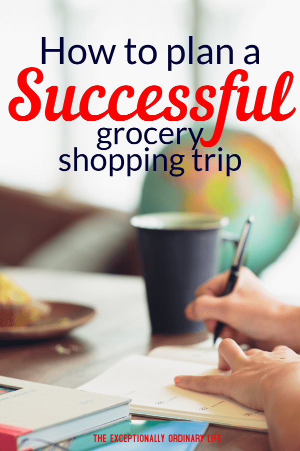 How to plan your grocery shopping trip